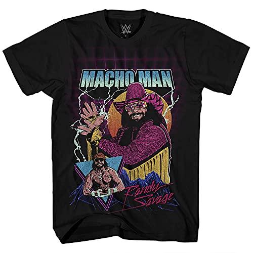 WWE - Camiseta para hombre Macho Man – Camiseta de hombre Macho Randy Savage...