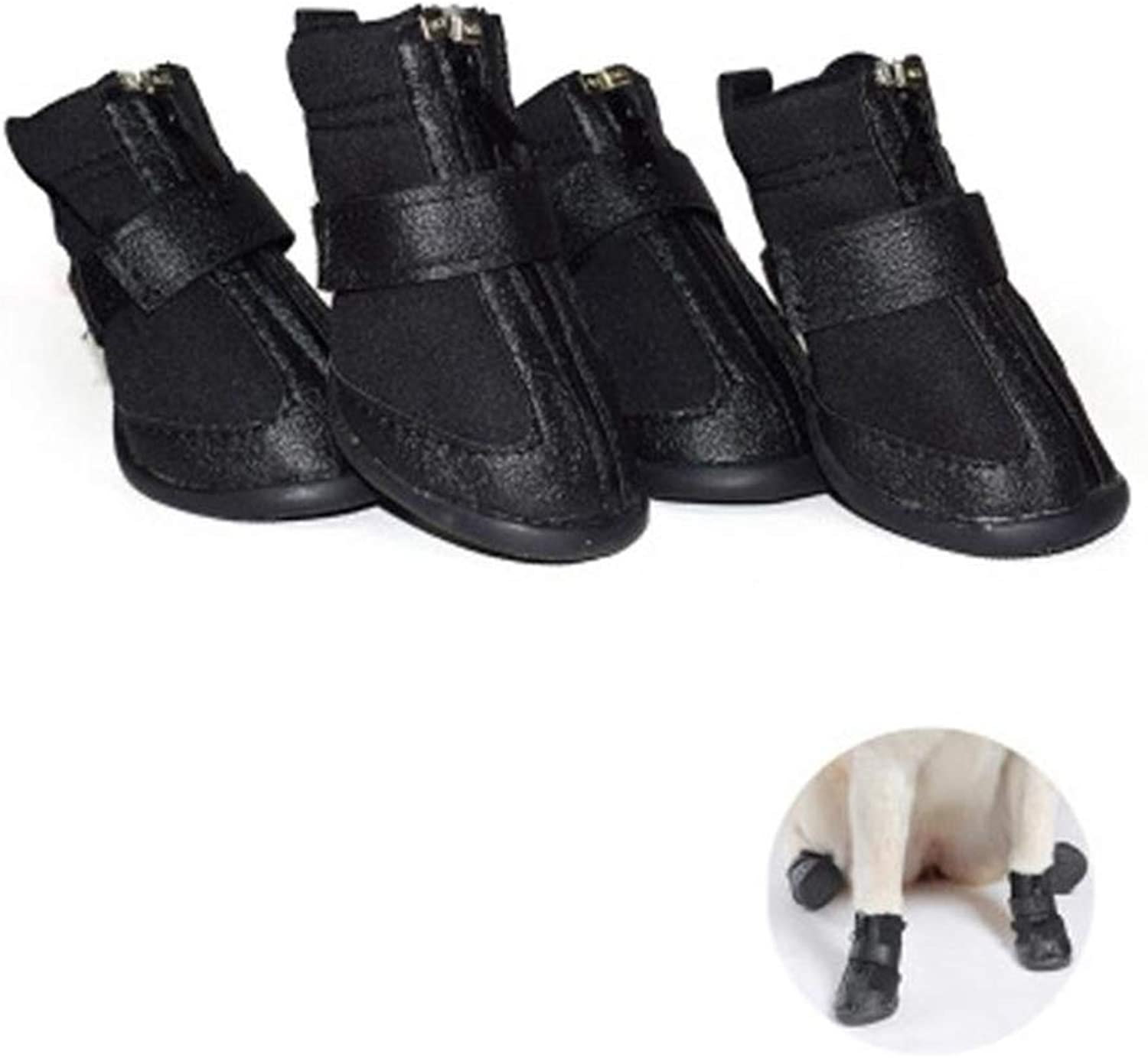 Pet Dog shoes Boots,Winter Large Dog Windproof Non Slip Outdoor Warm Boots Pet Winter shoes