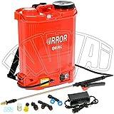 irror 16 lt pompa zaino irro elettrica a batteria elettropompa irrorazione burg