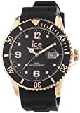 ICE-WATCH Reloj Análogo clásico para Unisex de Cuarzo con Correa en Caucho IS.BKR.B.S.13
