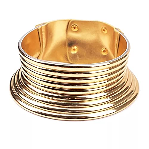 conjuntos Collar + bracelete de cuero colorido,magico, elegante con estilo Vintage para mujer, Maxi, joyería africana, con gran durabilidad
