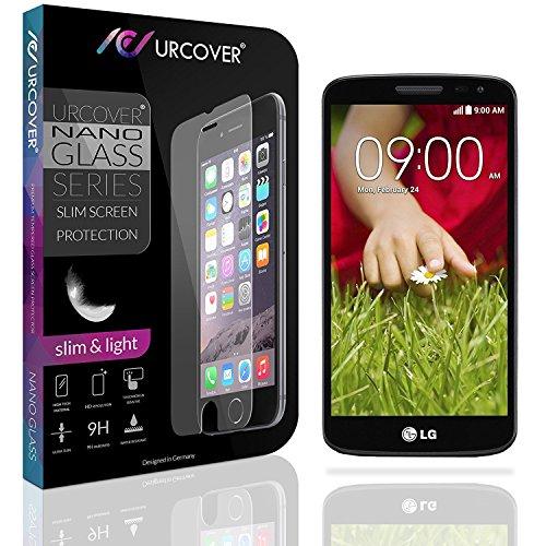 Urcover® 9H Festigkeitgrad Echt Glas Folie kompatibel mit LG G2 Mini Bildschirmschutzfolie Schutzfolie