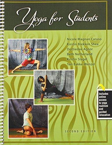 Yoga for Students by CARUSO NICOLE MAGNAN, SHEA KIRSTIN BREKKEN, AGNOR DOTTIED (2014) Spiral-bound