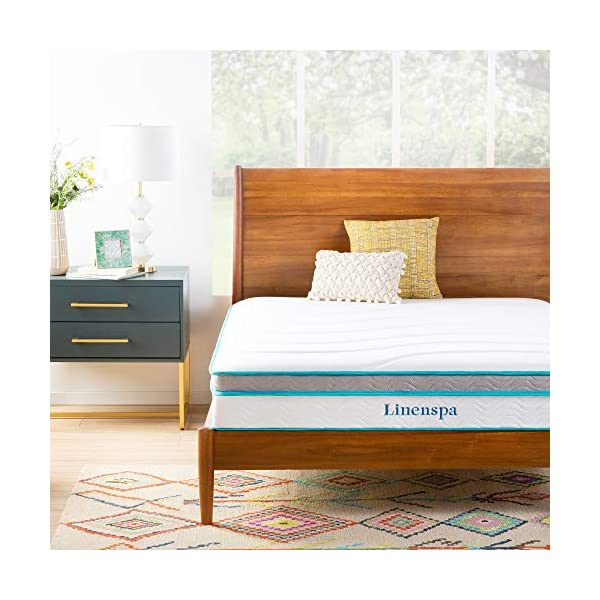 Linenspa Memory Foam and Innerspring Hybrid Mattress with Linenspa