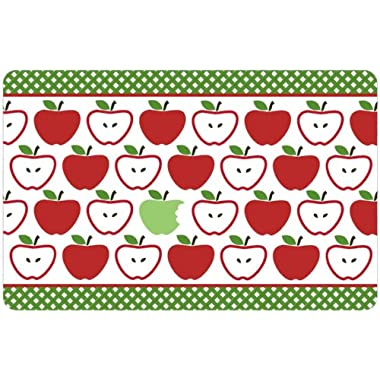Gourmet Club Anti-Slip Printed Kitchen Rug 18x28, Apples Floor Mat