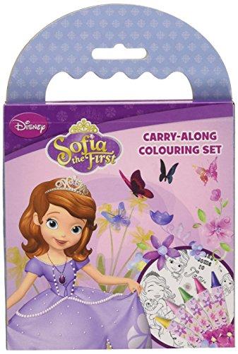 Disney - Princesse Sofia emportons Coloration Set [Jouet]