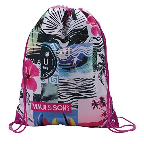 Maui and Sons Shunsine mochila Saco Rosa 35x44 cms Poliéster