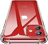 Cover Silicone Compatibile con iPhone, Custodia Trasparente per Assorbimento degli Urti con Paraurti in TPU Morbido [Protettiva Sottile] (iPhone 11)
