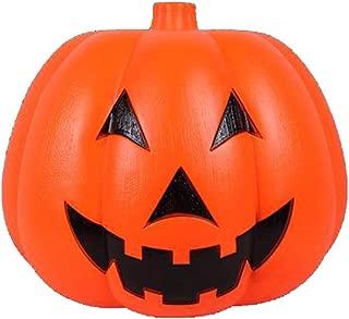 Halloween Pumpkin Light, Halloween Plastic Lighted Pumpkin Bucket, Flameless Led Lantern Light Tea Light, Lantern Halloween Decoration