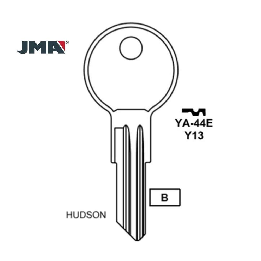 50 Pack Brass JMA Replacement for Yale Cabinet Key Y11 BR