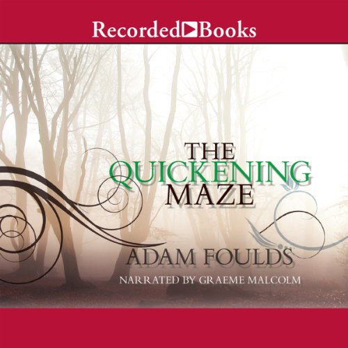 The Quickening Maze audiobook cover art