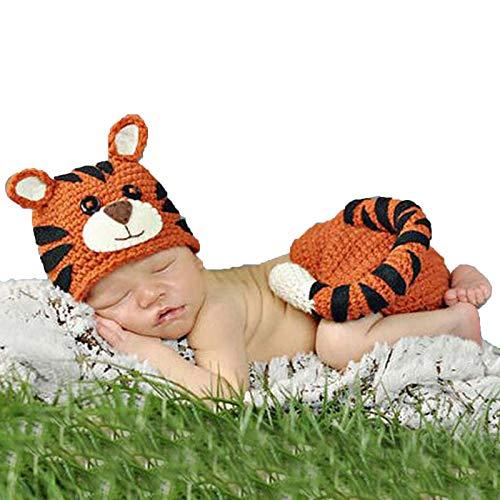 Lpinvin Disfraces de fotografía para bebés Ropa de fotografía recién Nacida Hecha a Mano recién Nacido bebé niña niño Traje fotografía fotografía Accesorios de fotografía de Ropa de bebé