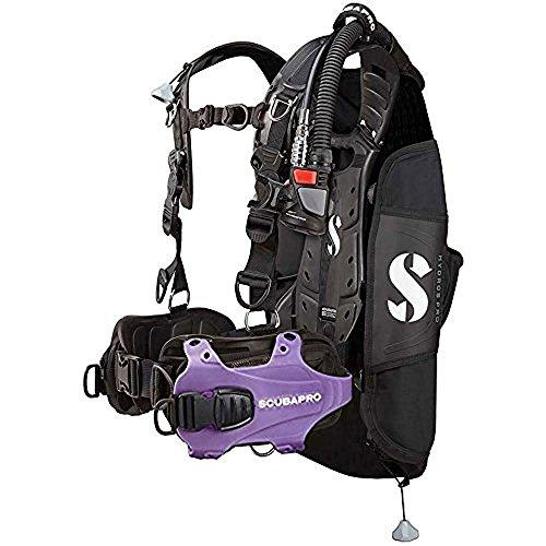 Scubapro Hydros Pro w/5th Gen Air2 Damen BCD – Violett Größe L
