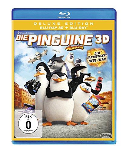 Die Pinguine aus Madagascar - Der Film [3D Blu-ray]