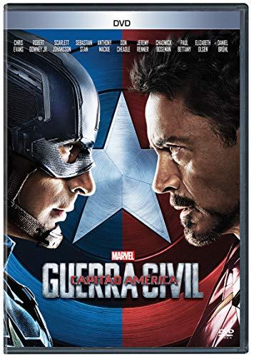Capitão América. Guerra Civil [DVD]