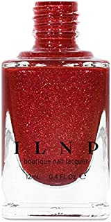 ILNP Stopping Traffic - Fire Engine Red Holographic Nail Polish