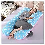 ppqq Almohada de embarazo para todo el mundo, almohada de cuerpo completo para...