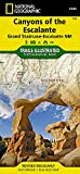 Canyons of the Escalante [Grand Staircase-Escalante National Monument] (National Geographic Trails Illustrated Map, 710)