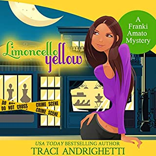 Limoncello Yellow     Franki Amato Mysteries, Book 1              By:                                                                                                                                 Traci Andrighetti                               Narrated by:                                                                                                                                 Madeline Mrozek                      Length: 9 hrs and 20 mins     166 ratings     Overall 4.2