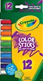 Crayola Color Sticks, Woodless Colored Pencils, 12 Assorted Colors