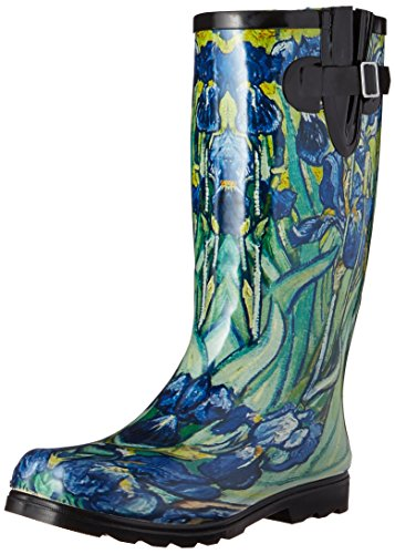 Nomad Women's Puddles Rain Boot, Iris, 10 M US