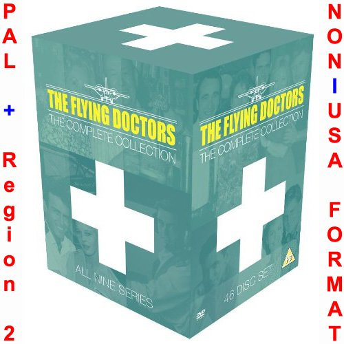 The Flying Doctors - Complete Series 1-9 Collection (All 221 Original Uncut Episodes) [NON-U.S.A. FORMAT: PAL + Region 2 + U.K. Import]