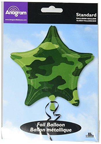 Amscan 1597801 Camouflage-folie ballonnen