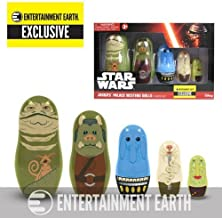 Star Wars Jabba Nesting Dolls Entertainment Earth Exclusive by PPWToys