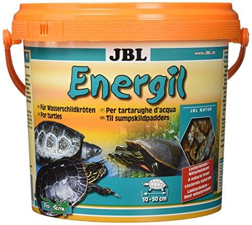 JBL Energil Hauptfutter für Sumpf- und Wasserschildkröten, 1er Pack (1 x 2,5 l), 70314