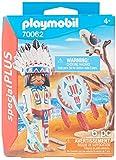 PLAYMOBIL- Special Plus Especial Indio Americano, Color carbón (70062)