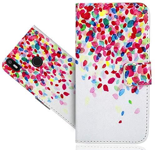 BQ Aquaris X/X Pro Handy Tasche, FoneExpert® Wallet Hülle Flip Cover Hüllen Etui Hülle Ledertasche Lederhülle Schutzhülle Für BQ Aquaris X/X Pro