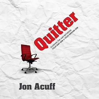 Quitter audiobook cover art