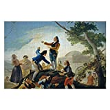 Promini Francisco Goya La Cometa Jigsaw Puzzle 1000 Piece, Puzzle Game Artwork for Adults Teens Kids Children 20' x 30'