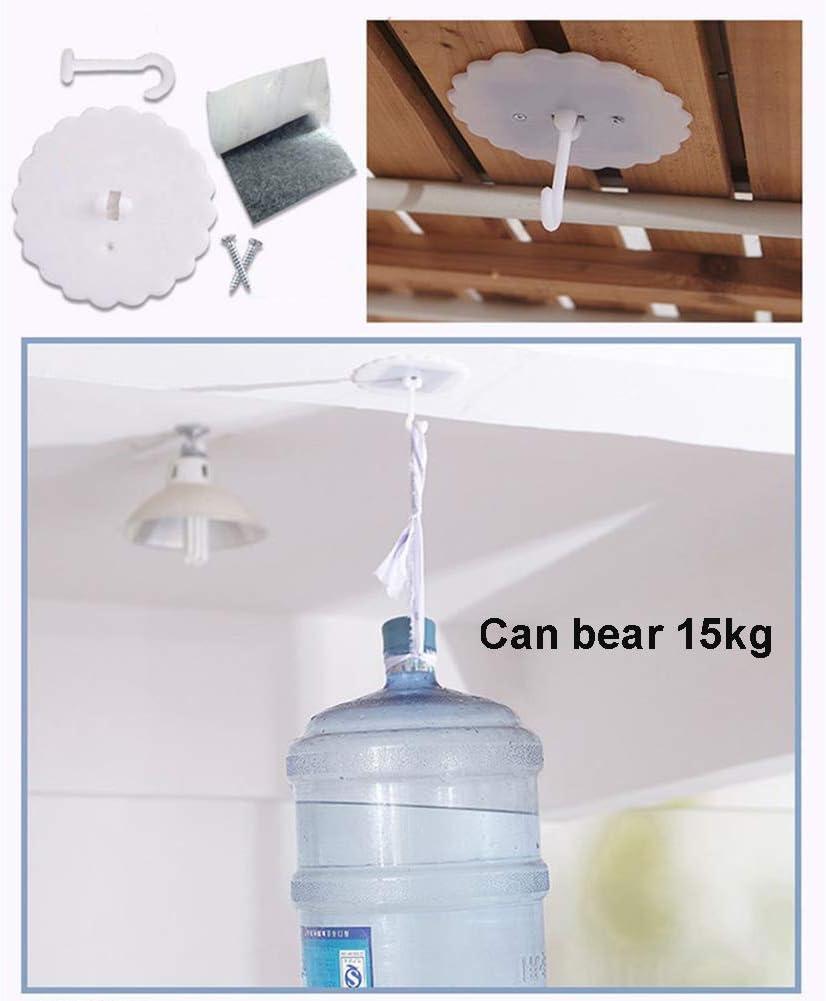 Mosquitera de c/úpula con Cortina de luz LED Cama con Dosel Encaje Ropa de Cama Redonda Ropa de Cama