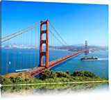 Golden Gate Bridge in San Francisco Format: 120x80 auf
