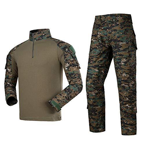 Airsoft Shirts Multicam Pants Survival Tactical Gear for Men Suitable for Airsoft Guns bb Gun Tactical Pen Belt Army Backpack Vest Flashlight Air Rifle