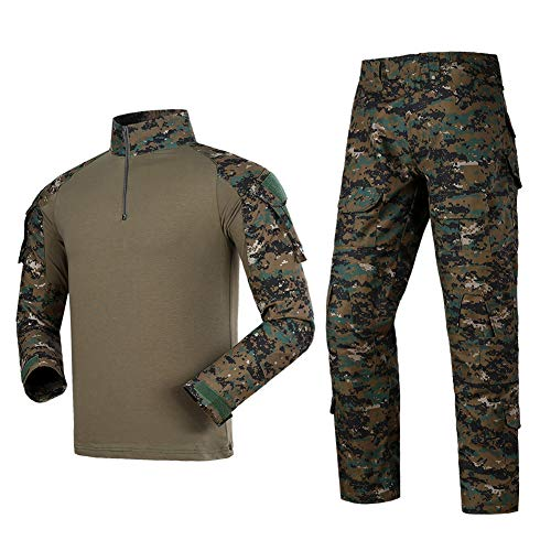 Airsoft Shirts Multicam Pants Survival Tactical Gear for Men Suitable for Airsoft Guns bb Gun Tactical Pen Belt Army Backpack Vest Flashlight Air Rifle