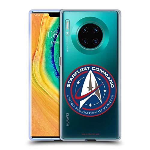 Head Case Designs sous Licence Officielle Star Trek Discovery Starfleet Insignes Coque en Gel Doux Compatible avec Huawei Mate 30 Pro / 5G