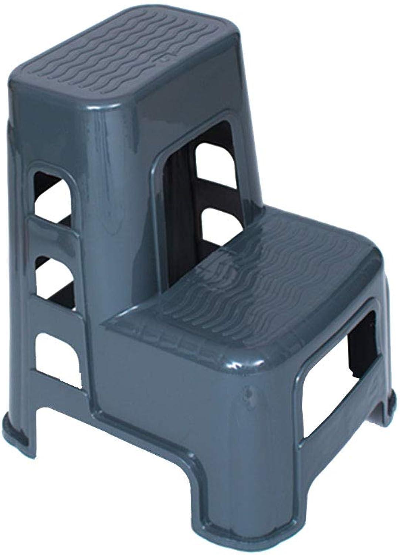 2 Step Stool Plastic Non-Slip Ladder Wash Car Stool for Home Office