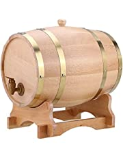 Barril de roble, 10 l, dispensador de barril de madera de roble para whisky Bourbon Tequila