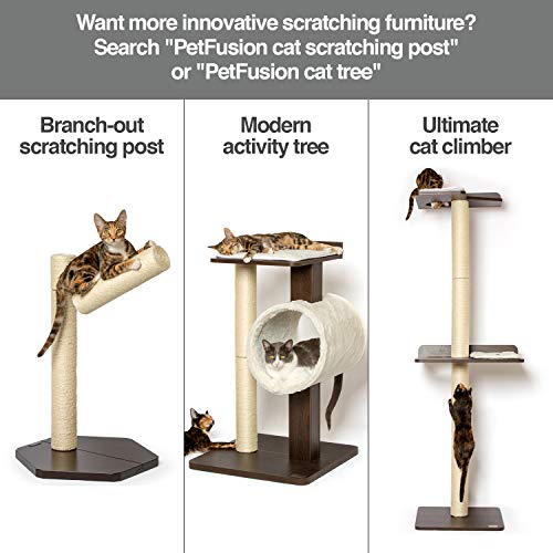 """PetFusion """"Lounge"""" Luxus-Kratzbaum für Katzen - 6"""