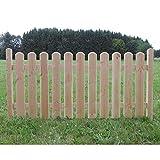 Holz Zaunelement Länge: 192cm - Startelement - Douglasie - 4089/7 DO