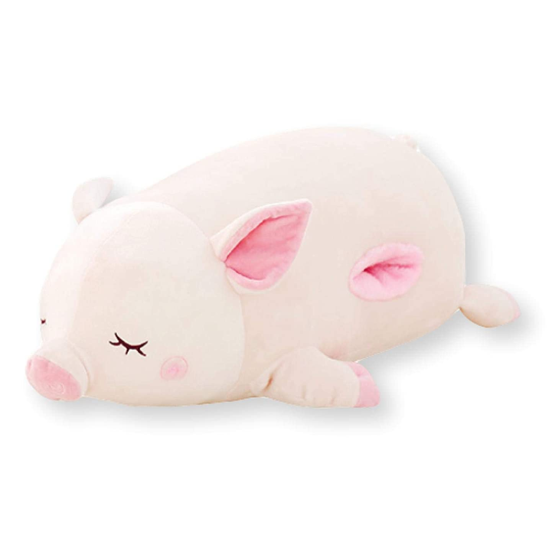 露出度の高いリズミカルな呼び出すFelimoa 全長60cm 抱き枕 ブタ ぬいぐるみ 豚 抱き心地バツグン アニマル クッション 洗える ピンク