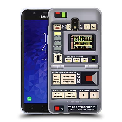 Head Case Designs Officially Licensed Star Trek Tricorder Gadgets TNG Soft Gel Case Compatible with Samsung Galaxy J7 (2018)