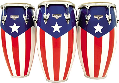 Our #2 Pick is the Lp Matador Puerto Rican Flag Motif Quinto