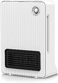 GYF Calefactor eléctrico 2000W Calefacción Pequeña Calentamiento Rápido Ahorro De Energía En El Hogar Calentador Mudo Sin Luz Libre De Radiación Medida De Seguridad Blanco