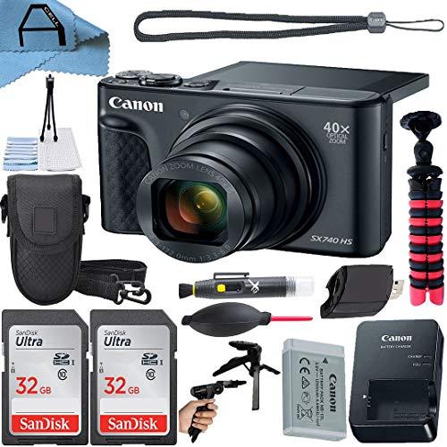 Canon PowerShot SX740 HS Digital Camera 20.3MP...