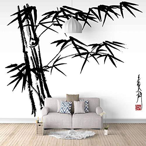 Wandbild Tapete Kunstbambus 3D Tapeten Moderne Wanddeko Design Wand Dekoration Wohnzimmer Schlafzimmer Büro Flur-400X280cm (157 * 110 inch)