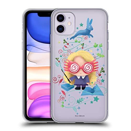 Head Case Designs Oficial Harry Potter Luna Lovegood Deathly Hallows II Carcasa de Gel de Silicona Compatible con Apple iPhone 11