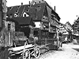 Kunstdruck/Poster: Jousset View of The Old Quarter ULM c